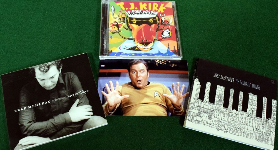 Captain James T. Kirk is shocked that John Coltrane is not included in the picture. I purchased a Hi-Resolution download of the album.